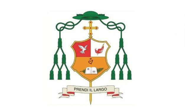 """""""Prendi il largo"""": il Vescovo eletto presenta il motto e lo stemma del suo episcopato"""