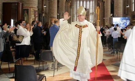 Domenica 11 ottobre: ingresso del nuovo Vescovo mons. Adriano Cevolotto