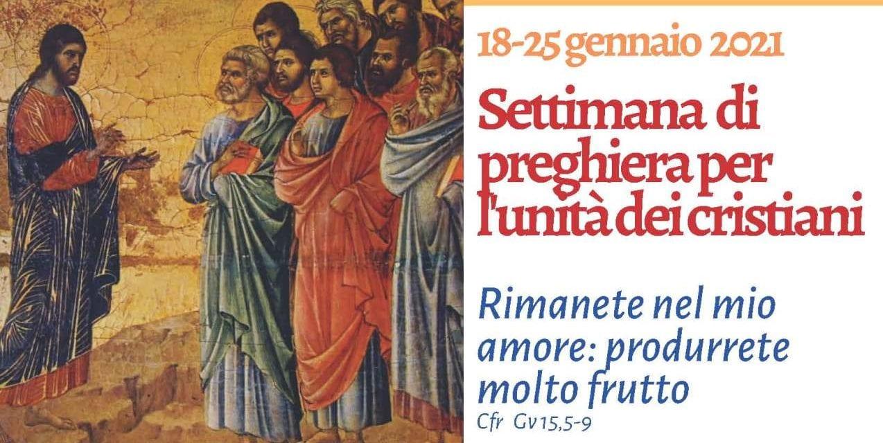 Settimana di preghiera per l'unità dei cristiani: il programma