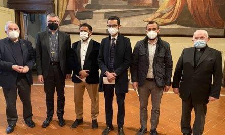 SCAMBIO DI AUGURI TRA IL VESCOVO E LA COMUNITA' ISLAMICA PIACENTINA