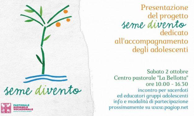 presentazione del progetto SEME DIVENTO