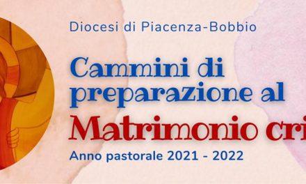 CAMMINI DI PREPARAZIONE AL MATRIMONIO CRISTIANO: IL CALENDARIO 2021/2022